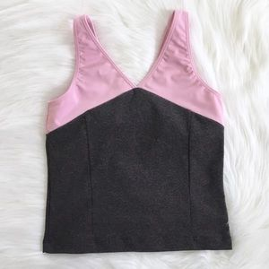 3 for $15/Everlast Pink & Gray Workout Tank Sz M
